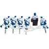 ICE Chexx Blue/white hockey players (6) - SC1000UICEB