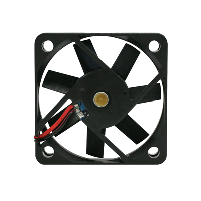 "Cooling Fan, 1.97"" x 1.97""x 0.39"", 12V, 2 Wire, Ball Bearing, W/ Connector - SA0470-03 - Item Photo"
