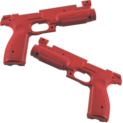 Namco Time Crisis 4 Red Gun Body Cover Set - TF09-11675-01 - Item Photo